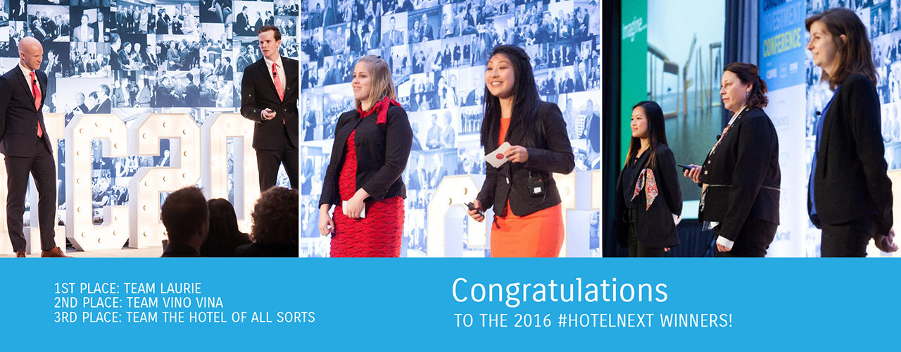 hotelNEXT 2016 Winners