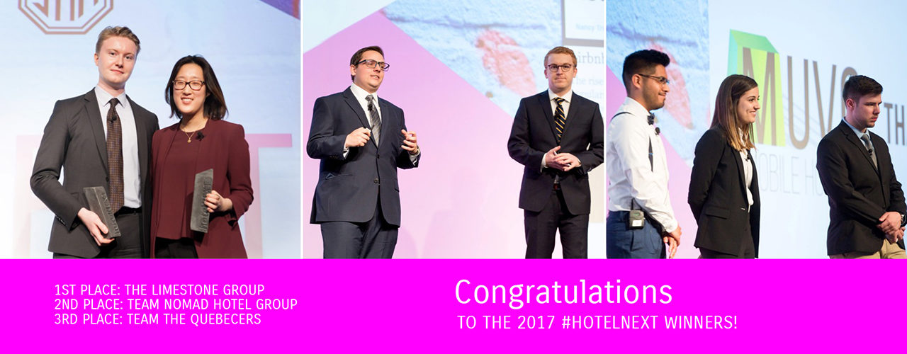 hotelNEXT 2017 Winners