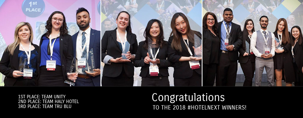hotelNEXT 2018 Winners